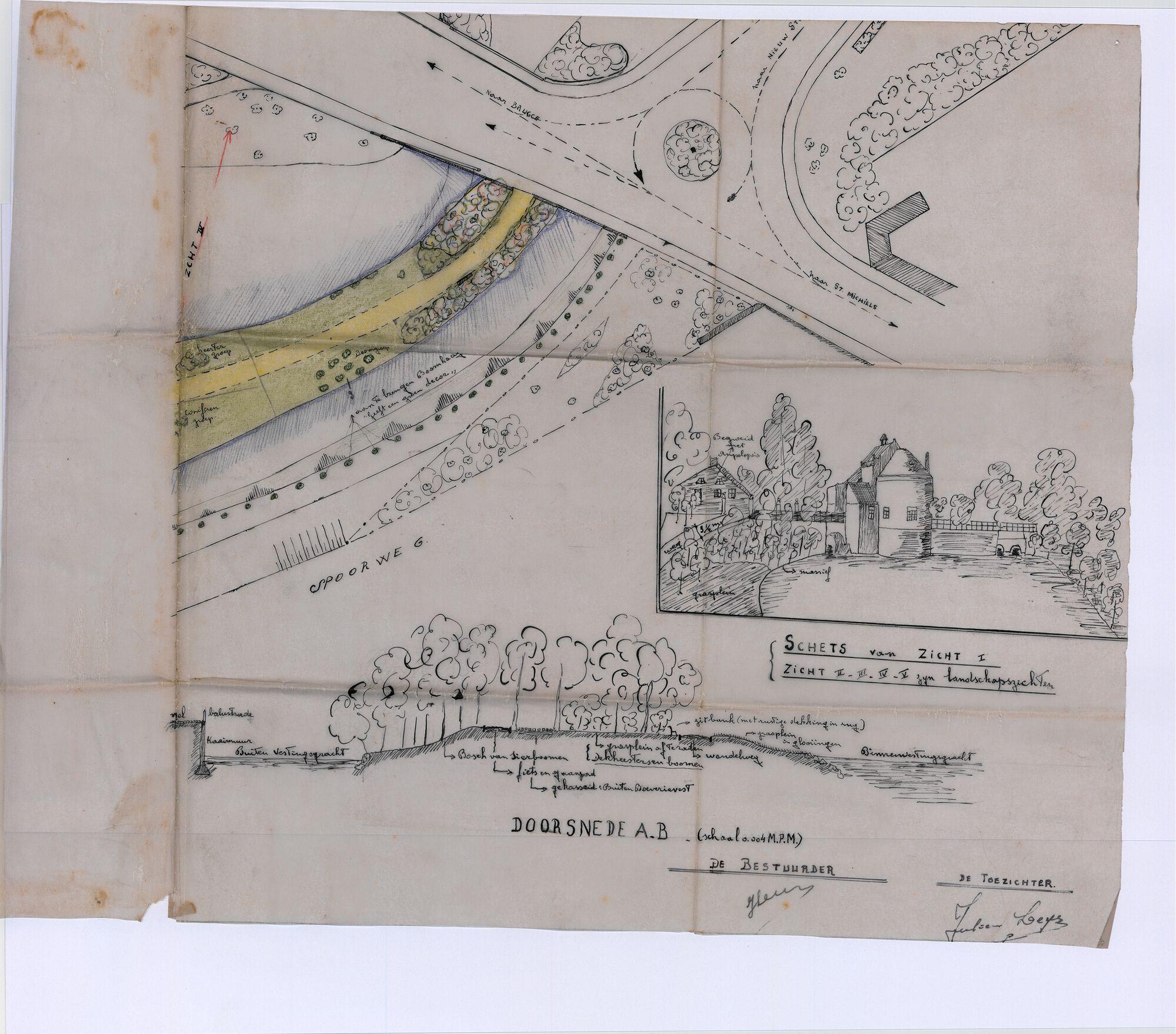 1942 Buiten Boeverievest - Doorsnede en Zichten.tif