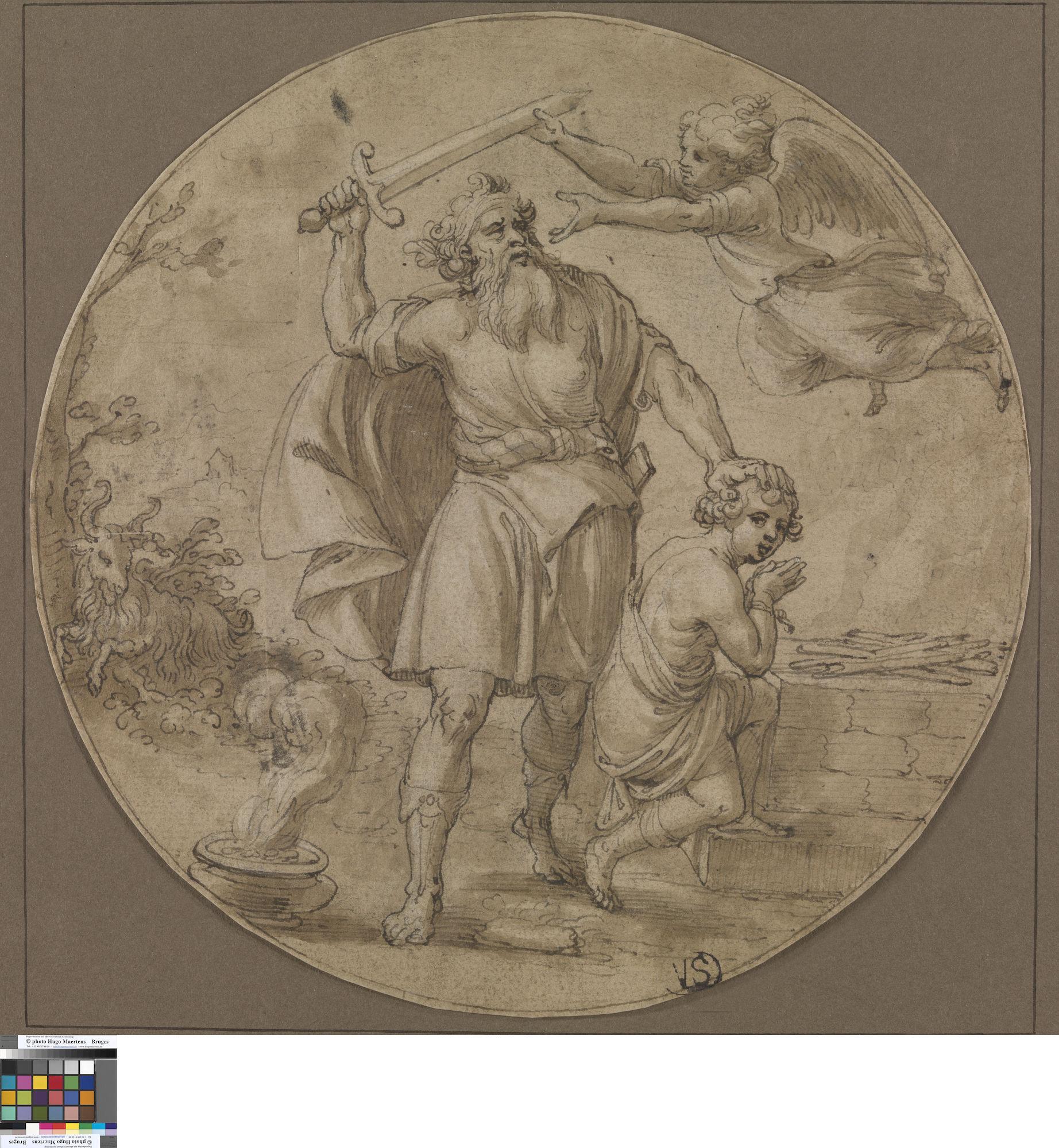 Offer van Abraham, Pieter de Jode