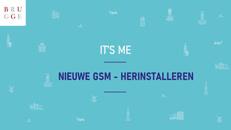 It's me - herinstalleren