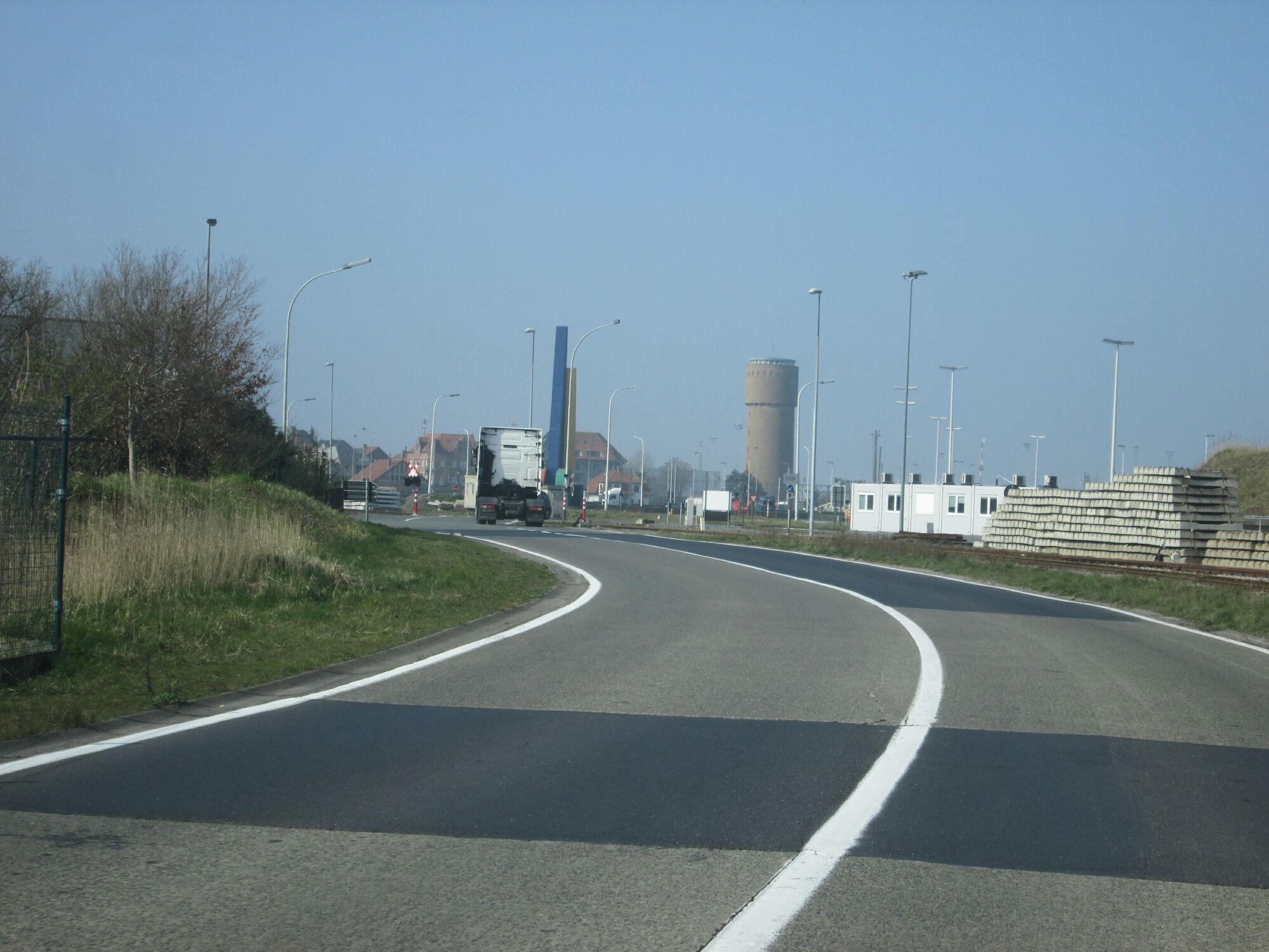 Zeebrugge - kiwiweg