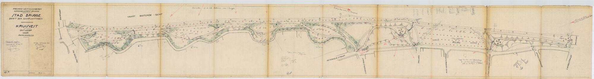 1954 Kruisvest - Ontwerp Parkaanleg - Beplantingsplan.tif