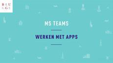Werken met apps
