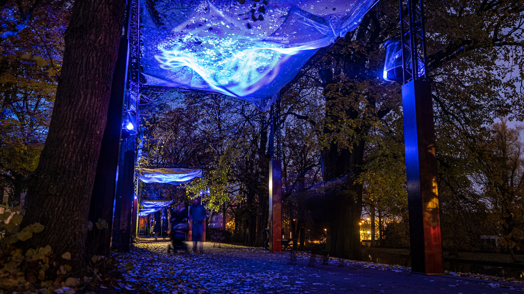 Wintergloed lichtparcours