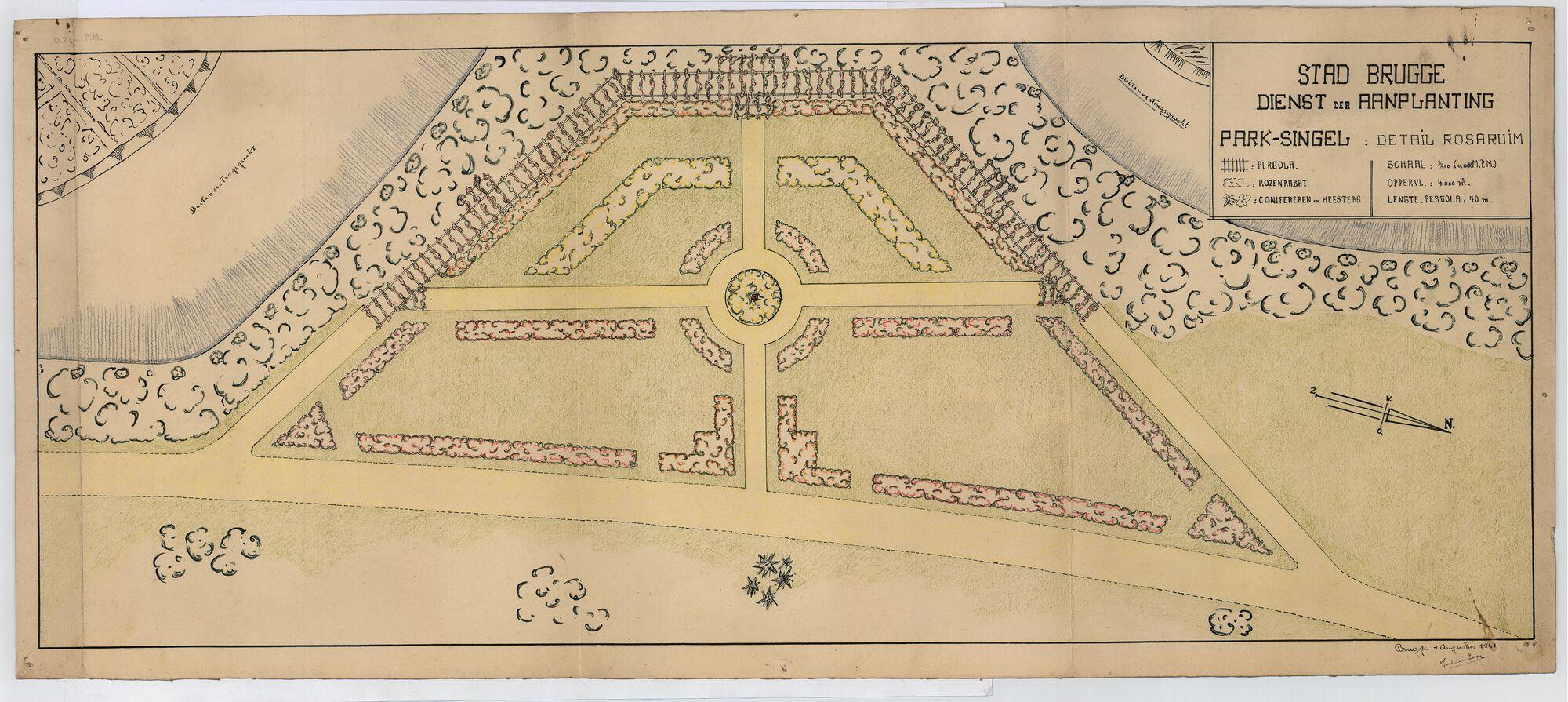 1941 Buiten de Smedenvest - Detail Rosarium.tif