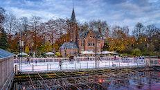 Wintergloed schaatspiste
