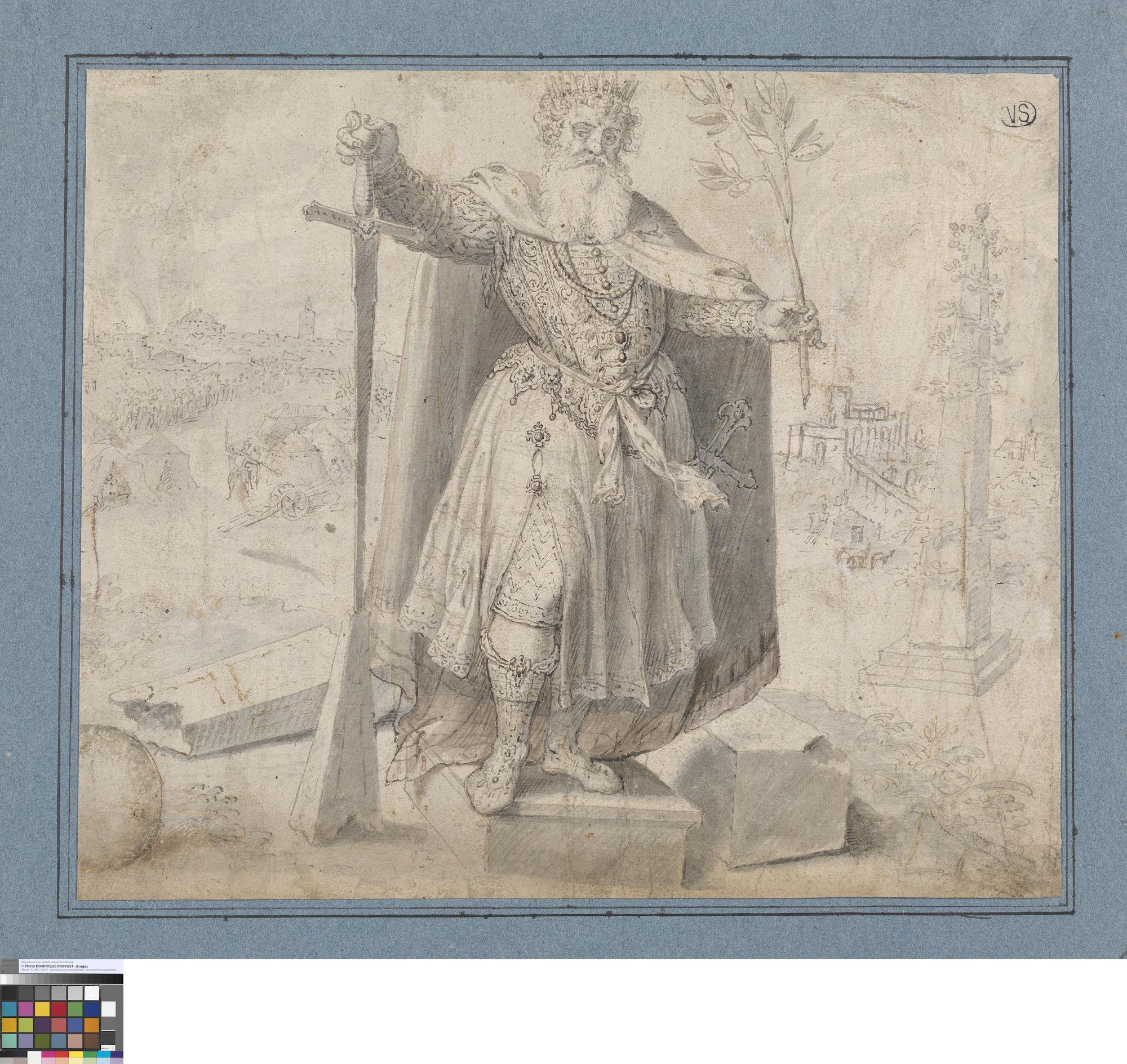 De macht van de koning, Ambrosius Francken de Oudere