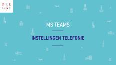 MS Teams Instellingen