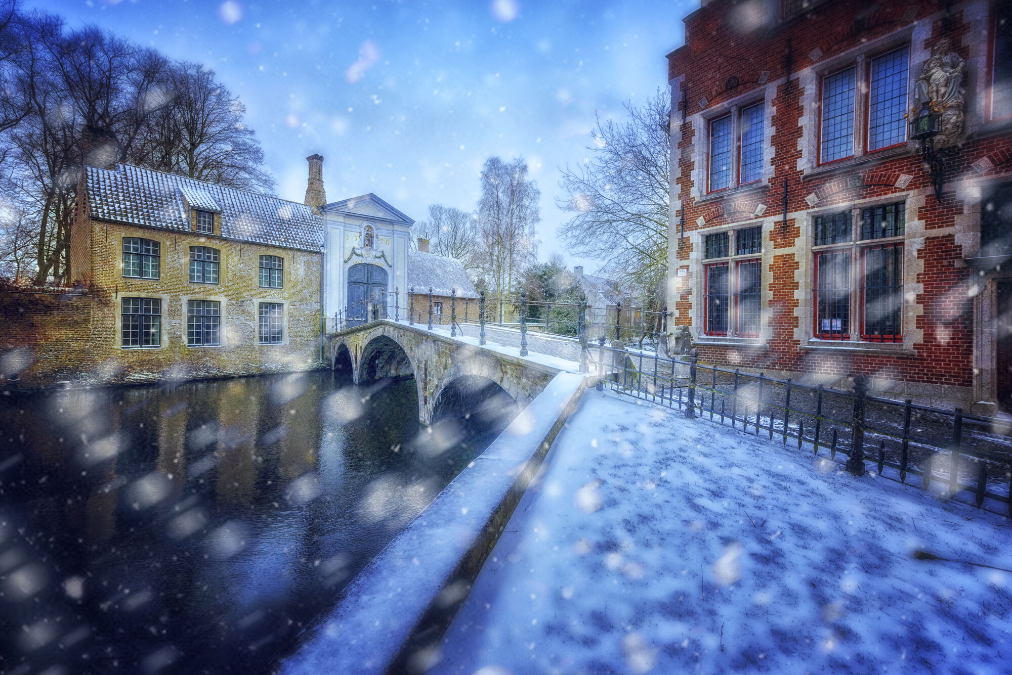 Winter in Bruges