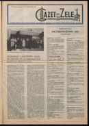 GAZET VAN ZELE 1981-10-02 p1