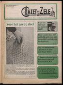 GAZET VAN ZELE 1992-03-27 p1