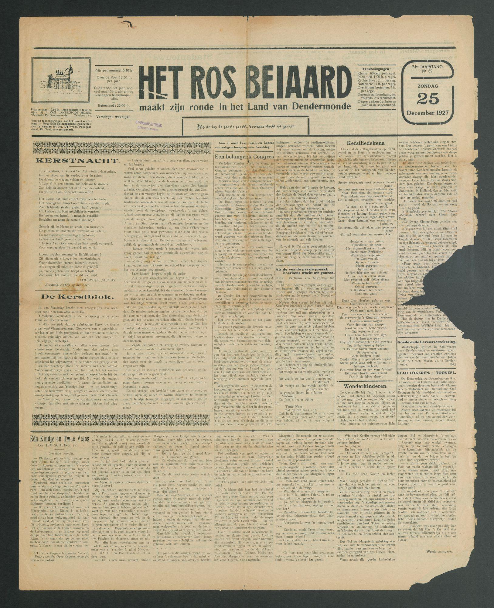 HET_ROS_BEIAARD 1927-12-25 p1