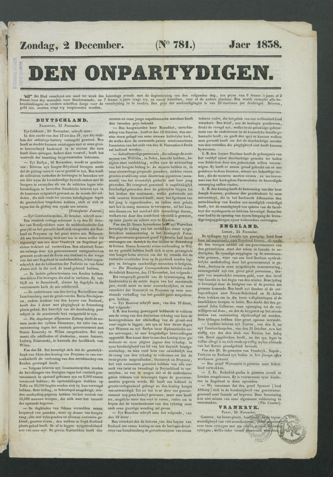 DE_ONPARTIJDIGE 1838-12-02 p1
