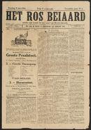 Het Ros Beiaard: Ros Beiaardommegang 1914