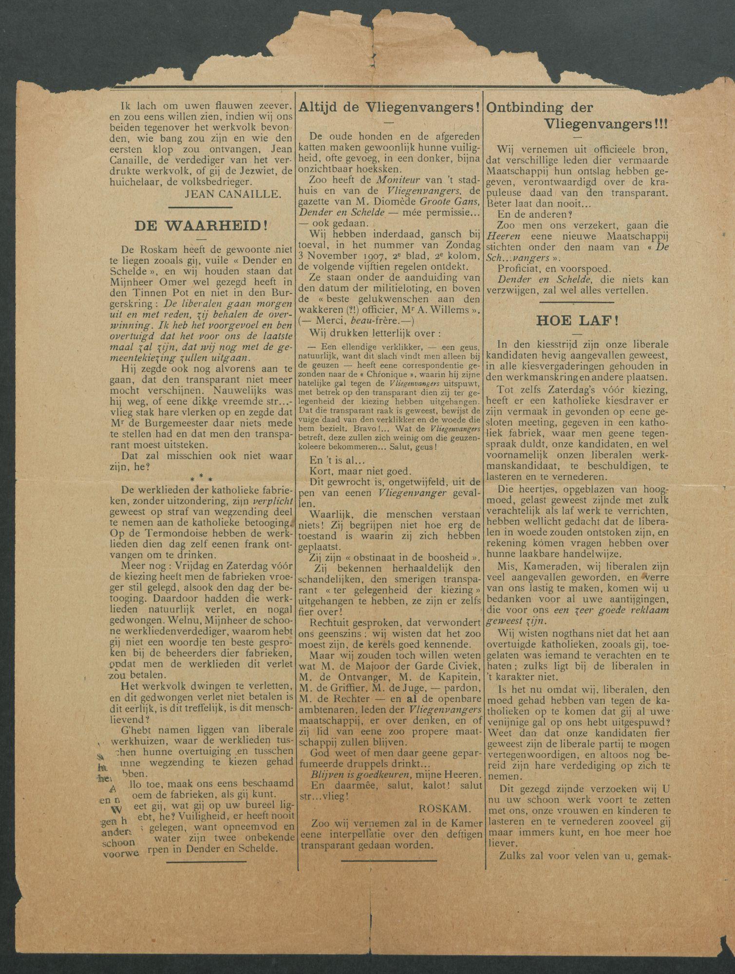 DE ROSKAM 1907-11-10 p2