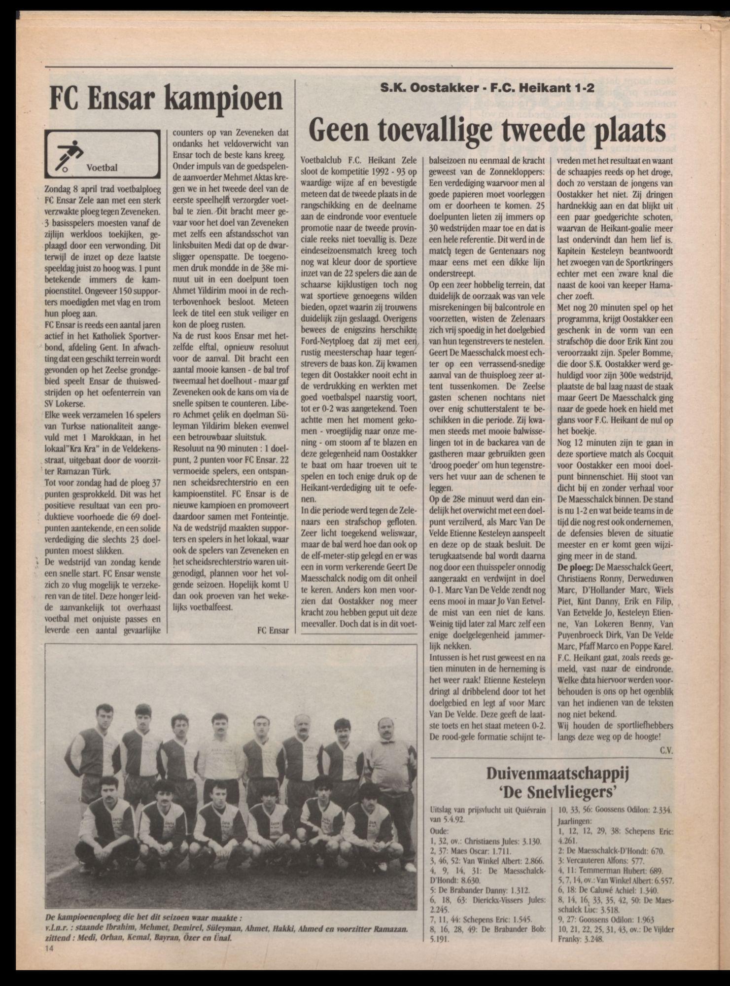 GAZET VAN ZELE 1992-04-10 p14