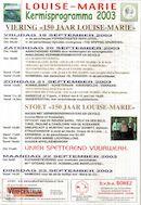 Kermis Louise-Marie 2003