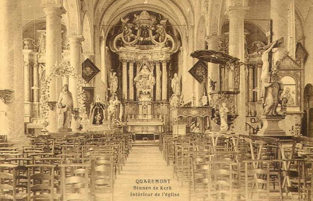 Kerk Kwaremont interieur
