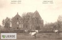 Weide aan klooster/kostschool te Sint-Maria-Lierde