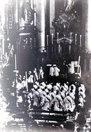 Inhuldiging pastoor Goethals