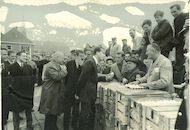 Eiermarkt Kruishoutem - bezoek koning