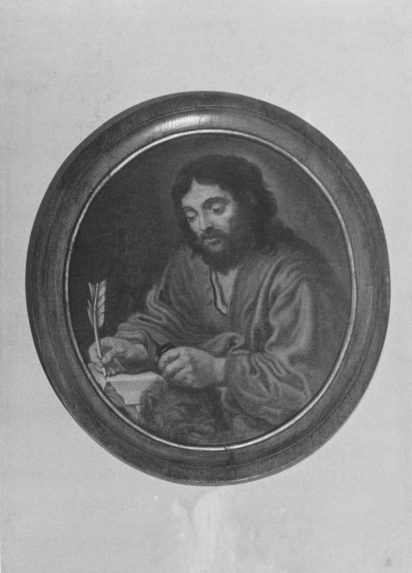 Medallion schilderij kerk Deftinge