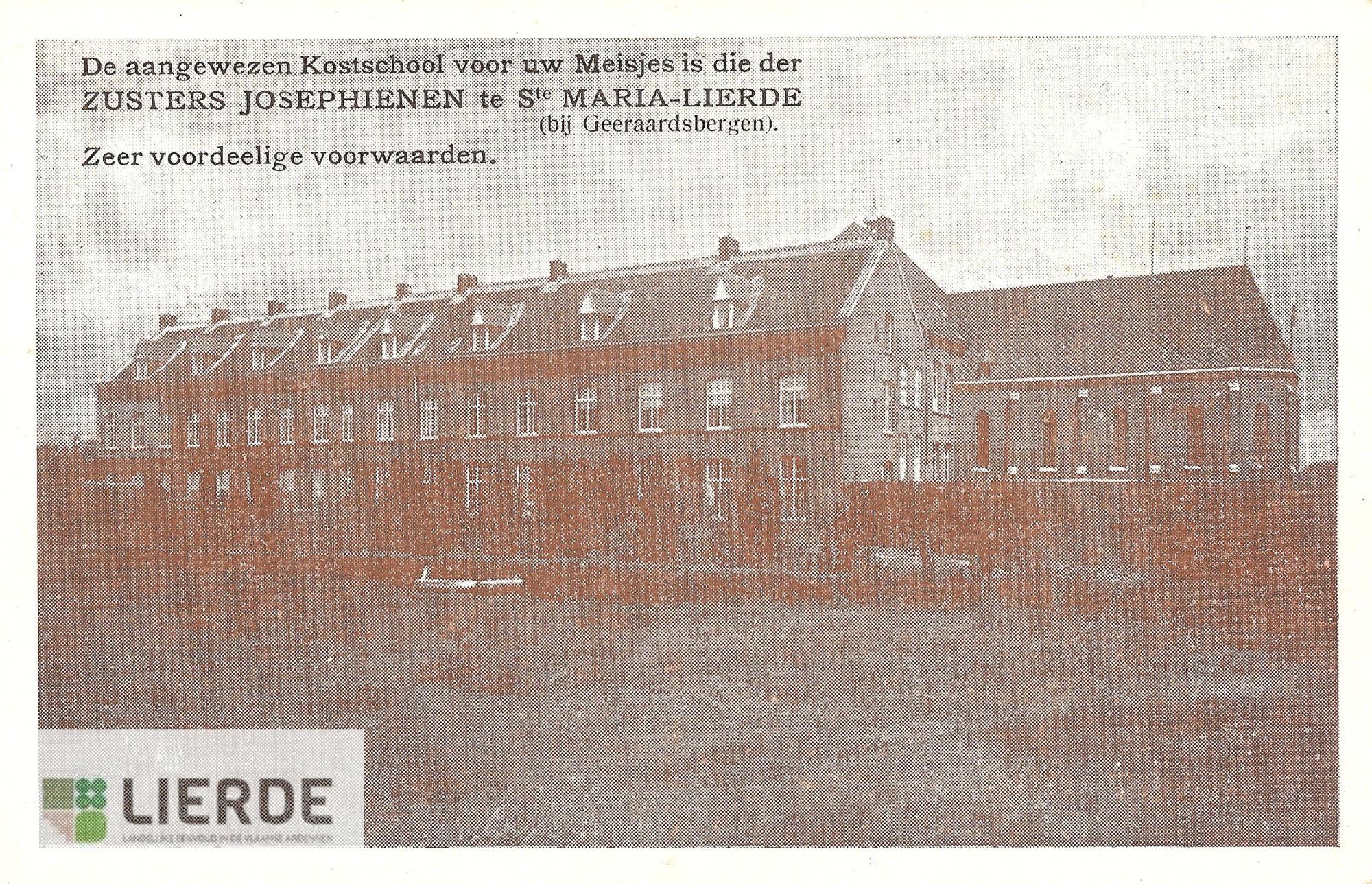 Klooster/kostschool Sint-Maria-Lierde