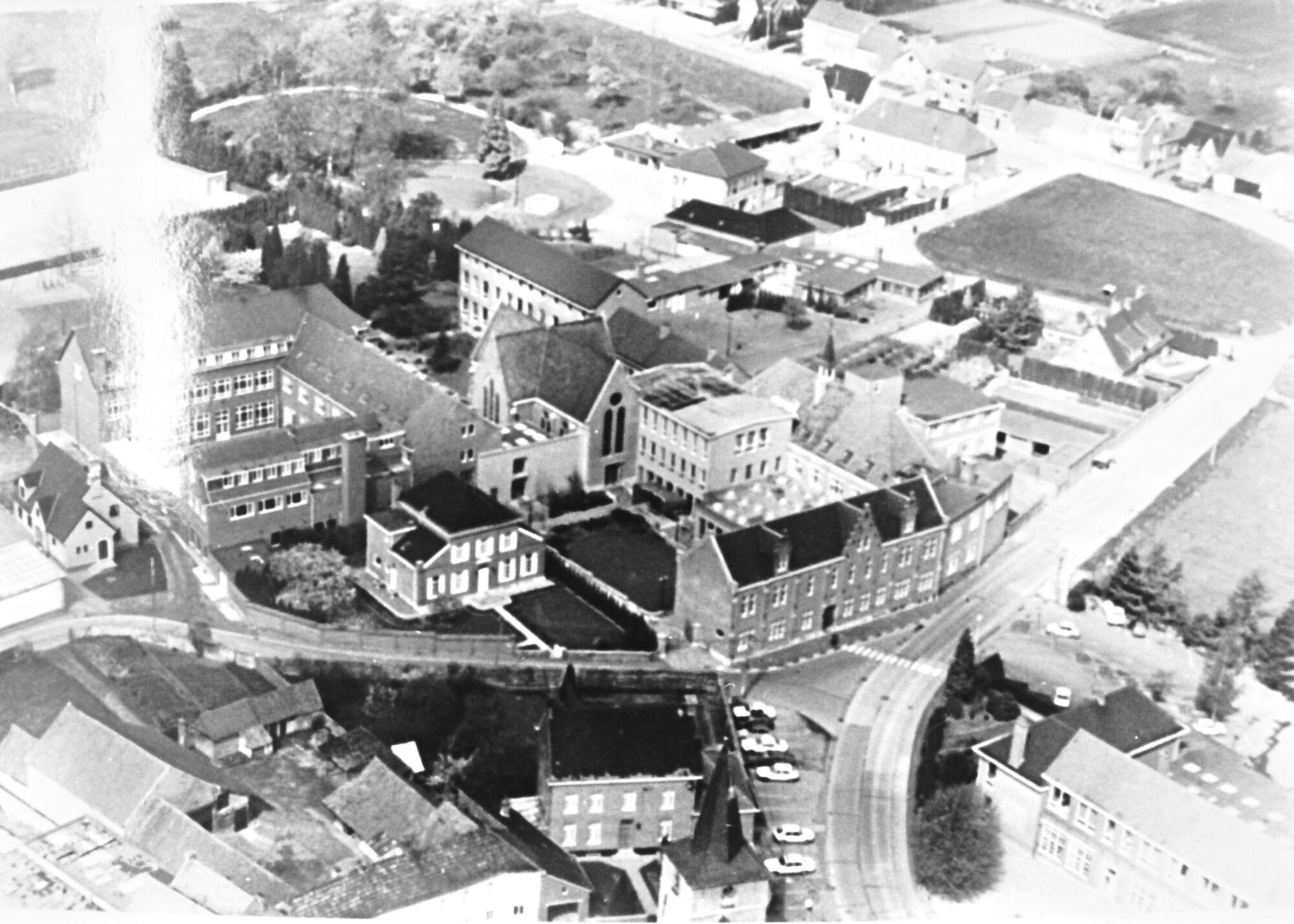Klooster Deftinge - luchtfoto