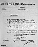 EK 1876 brief over ballonvlucht