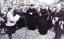 Inhuldiging pastoor De Boe¨