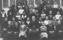 Schorisse: vrije school Schorisse- zondagschool 1917