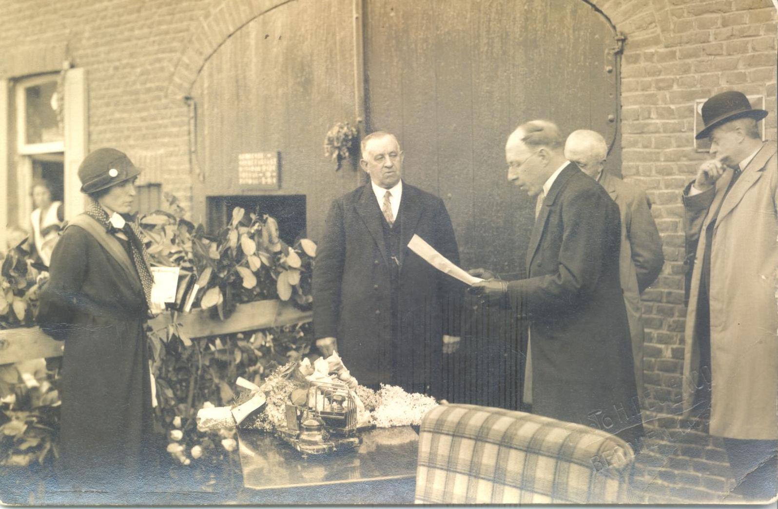 Zulzeke: inhuldiging burgemeester Marie Vindevoghel