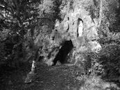 EK 1913 Lourdesgrot klooster Berchem