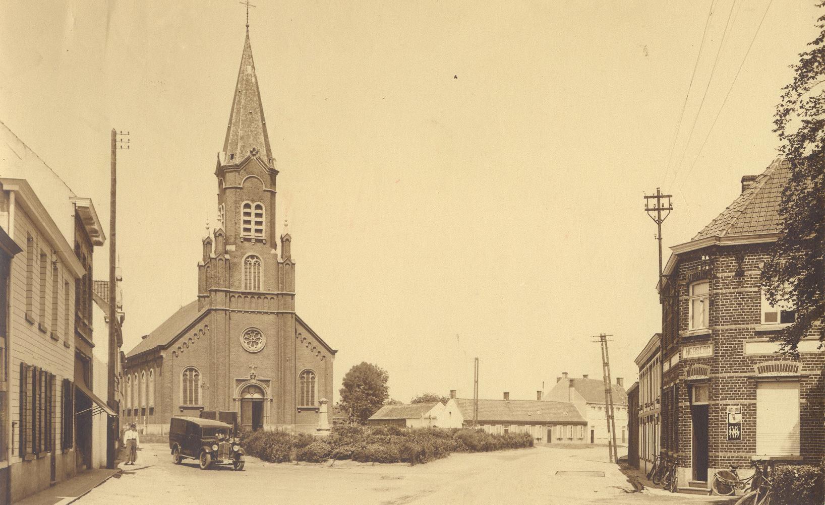EK 404 kerk van Ruien