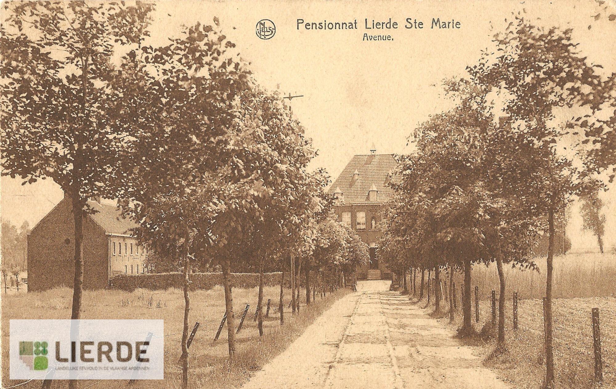 Toegangsweg klooster Sint-Maria-Lierde