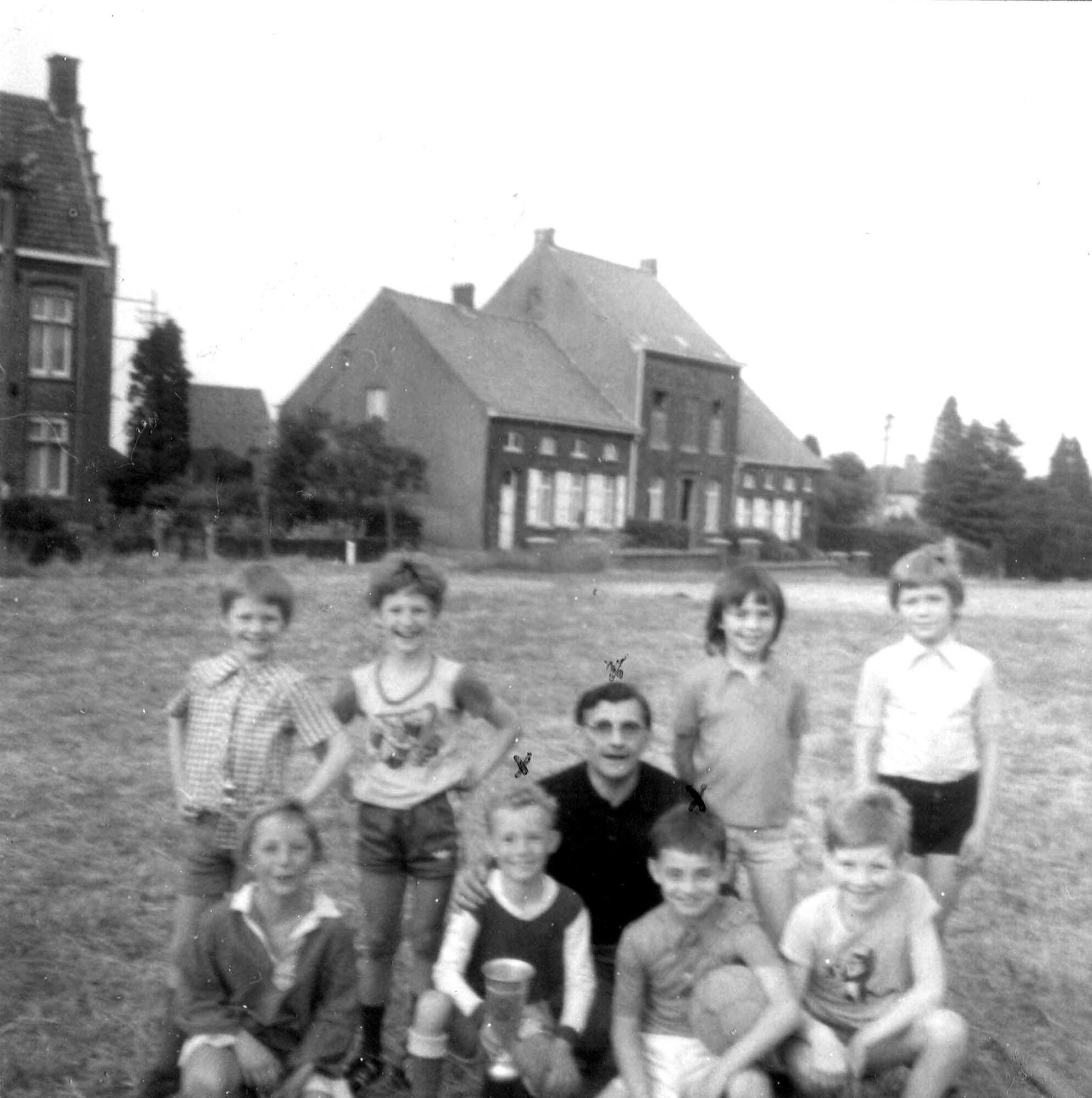 Louise Marie: groepsfoto 1975