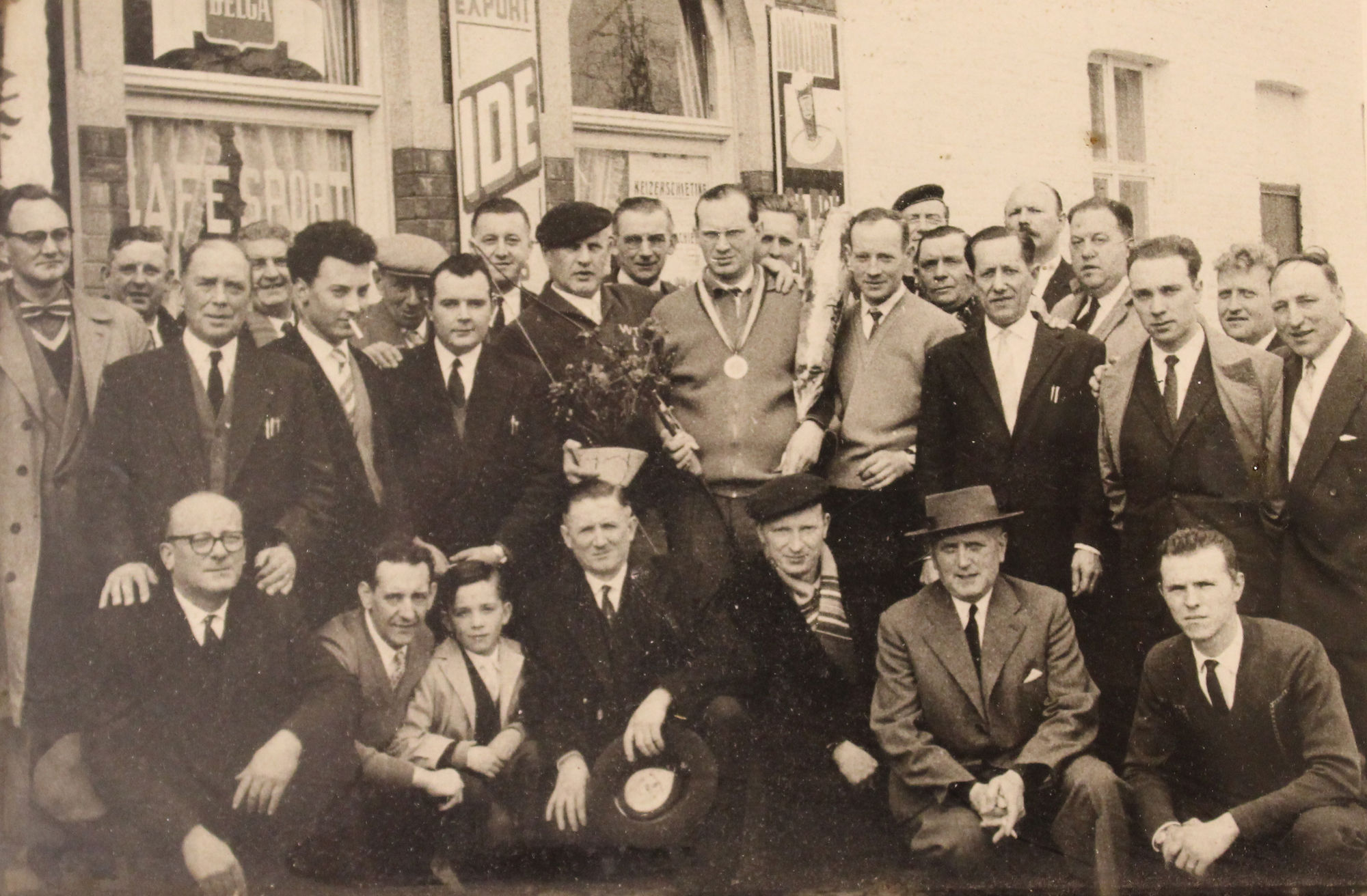 Vrije Schutters Berchem 1960
