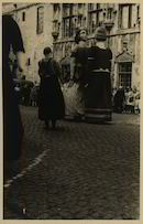 Oudenaarde. Oudenaardse reuzen op de kermis in 1947