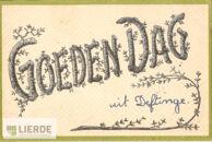 Postkaart uit Deftinge