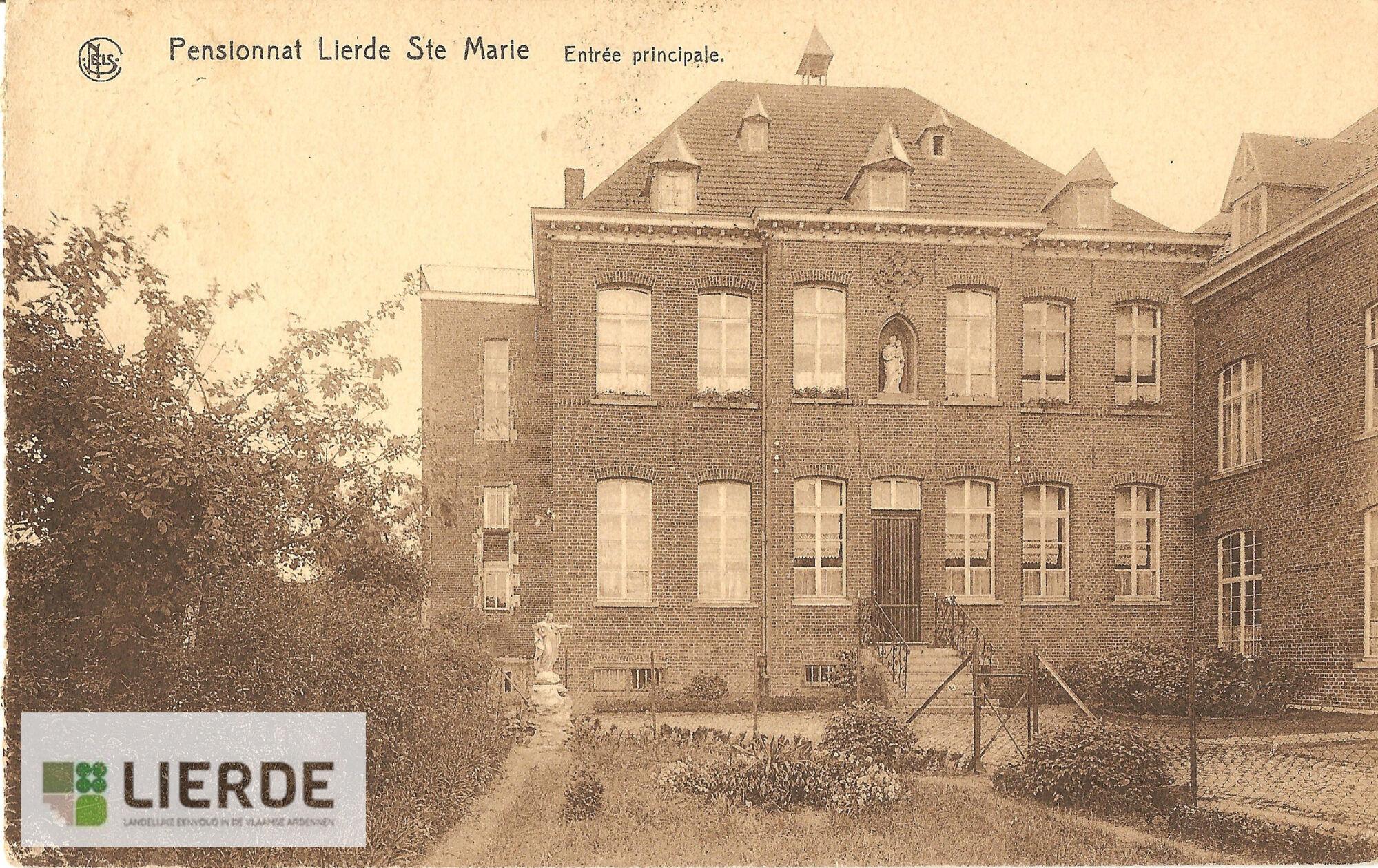 Hoofdgebouw klooster Sint-Maria-Lierde