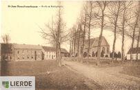 Sint Jansplein en kerk Hemelveerdegem