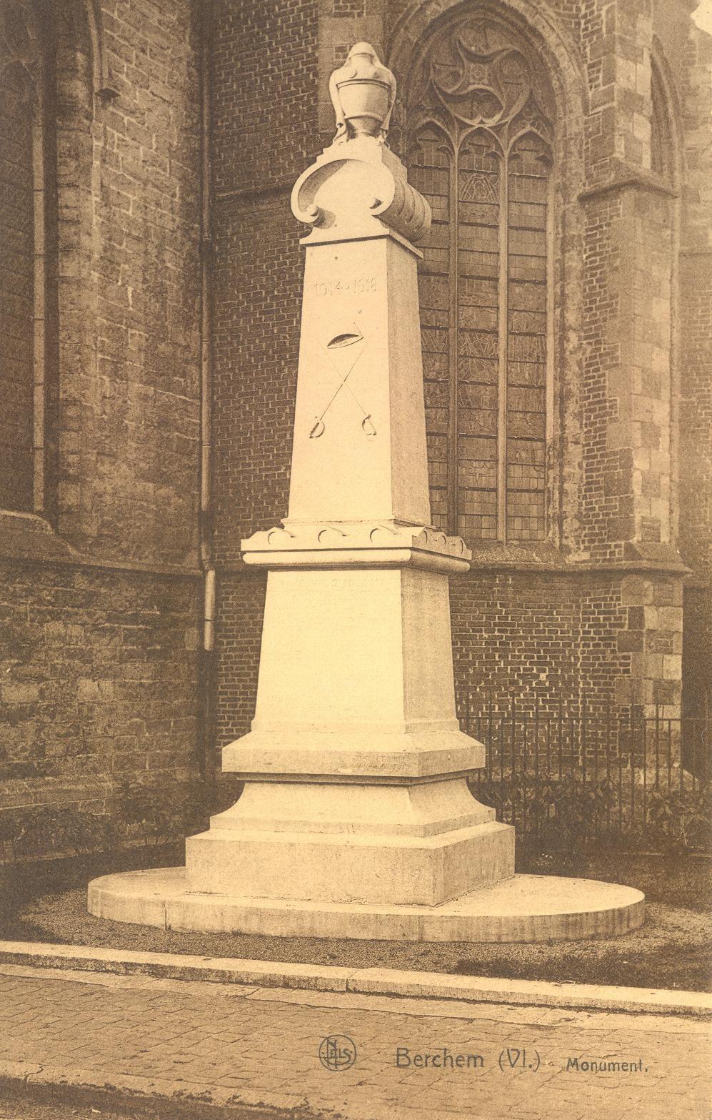 EK 110 Berchem monument 1914-18.JPG