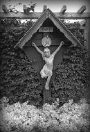 EK 1886 Christusbeeld Kalkovenstraat
