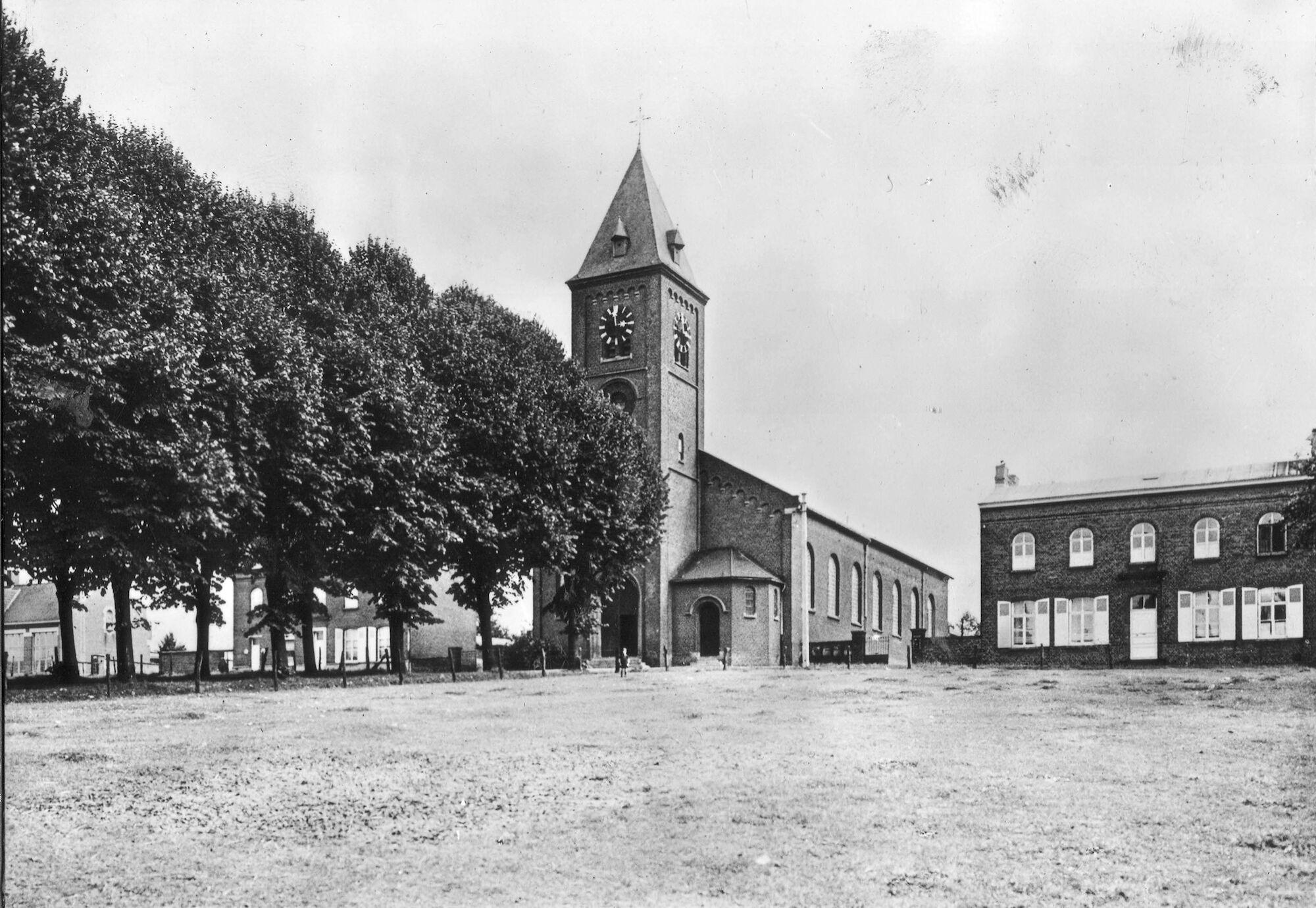 Louise Marie: kerk en pastorij