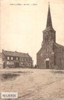 Dorpsplein en kerk Sint-Maria-Lierde