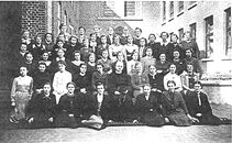 Klooster Deftinge - groepsfoto