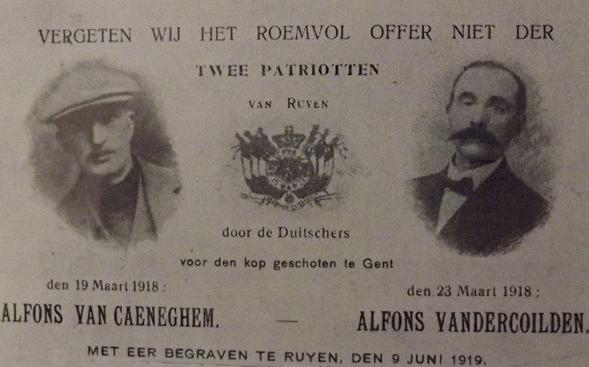 EK 1777 Van Caeneghem en Vandercoilden