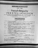 EK 1877 feestprogramma Berchem 1939