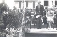 Berchem: inhuldiging burgemeester Achille De Waele