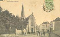 EK 90 Berchem kerk afgestempeld 1907.JPG