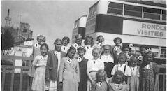 Louise Marie: vrije school schoolreis naar Zaventem 1952